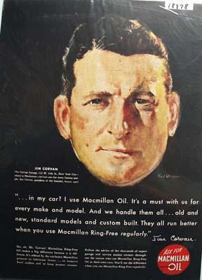 Macmillan ring-free oil Ad 1948.
