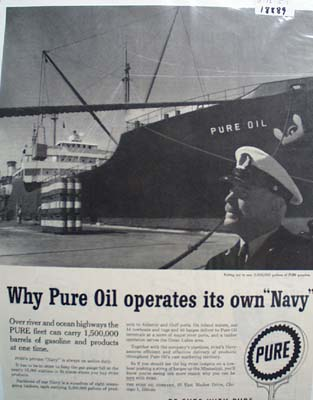 Pures Navy Ad 1957.