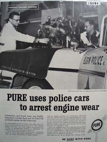 Pure who the police trust Ad 1960.