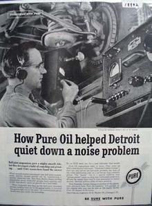 Pure quiets Detroits problem Ad 1960.