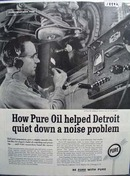 Pure quiets Detroits problem Ad 1960.