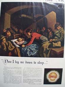 Shell helping you sleep Ad 1942