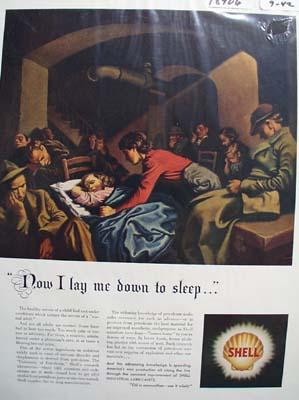 Shell helping you sleep Ad 1942