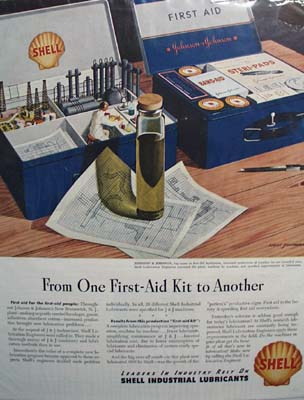 Shell industrial lubricants you can rely on Ad 1946