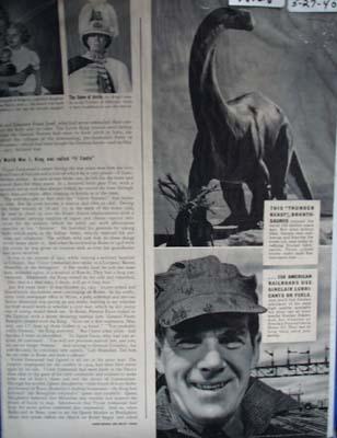 Sinclair lubricants the chose of 150 American railroads Ad 1940
