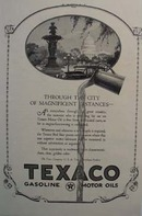 Texaco golden clear superiority Ad 1924.