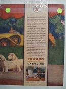 Texaco take a tour Ad 1929