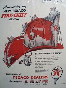 Texaco fire-chief gas better than ever Ad 1946 Ad