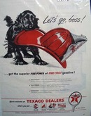 Texaco lets go, boss Ad 1946.