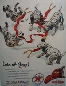 Texaco Fire-Chief gasoline has lots of snap Ad 1951.