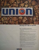 Union 76 oil strong new sign of growth Ad 1968