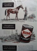 Veedol oil natures gift Ad 1940.