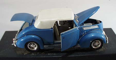 Ford 1937 Convertibles Model on black base by Road Legends