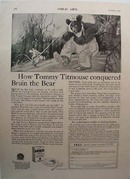 Postum Grape-Nuts Tommy Titmouse Ad 1925