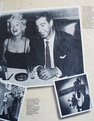 Joe DiMaggio the yankee clipper turns 75 photo Ad 1989