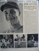 Black and white Bob Feller photos Ad 1941