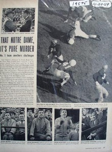 Notre Dame stomps Tulane 46-7 photo Ad