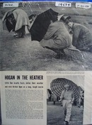 Ben Hogan stays dry and wins the 1953 British Open Ad 1953