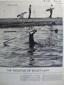 The monster of Bogey lake photo Ad 1965.