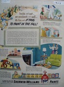 Sherwin-Williams paints cover the world Ad 1950
