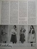 Carole King make him take a double take Ad 1972.
