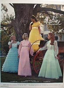 Nadine formal and party dresses Ad 1972