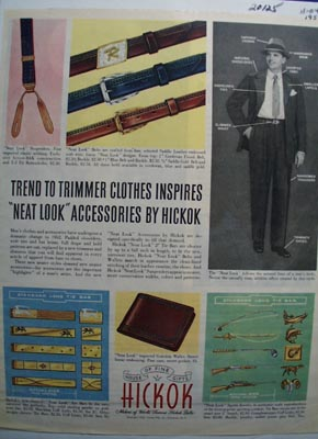 Hickok house of fine gifts Ad 1952.