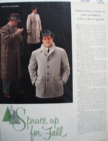 Colliers mens wear spruces up the fall Ad 1955.