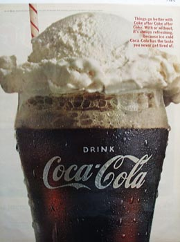 Coca-Cola makes thing go better Ad 1966.