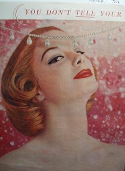 Revlon moon drops Ad 1956.