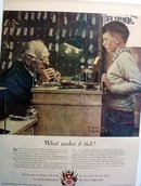 Swish watchmakers what makes it tick Ad 1950.