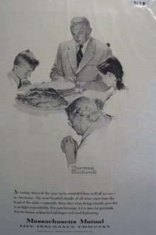 Massachusetts Mutual prayer for a bright future Ad 1959
