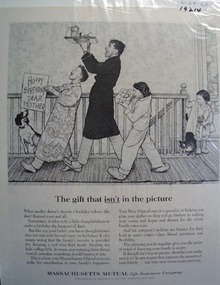 Massachusetts Mutual family security Ad 1963