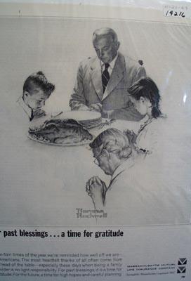 Massachusetts Mutual prayer for a bright future Ad 1964