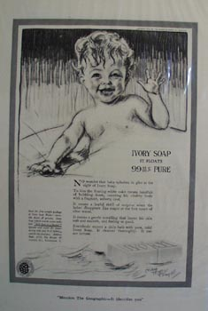 Ivory soap for delicate skin Ad 1920.
