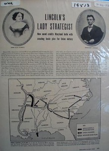 Lincolns lady strategist Ad 1948.