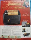 Sunbeam Shavemaster Christmas Ad 1956
