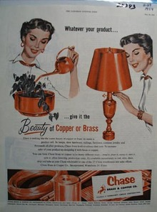 Chase Copper Whatever Your Product Ad 1954