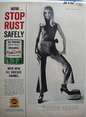 Acme Quality Enamel Stop Rust Ad 1965