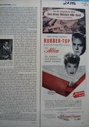 Allen Karpet Squares Lucy & Desi Arnaz Ad 1957