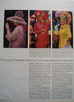 Australian Women & Hats Article 1966