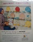 Melmac Center New Beauty Ad 1957
