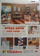 Glidden Paint Color Harmony Ad 1957