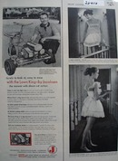 Lawn King By Jacobsen East to Mow Ad 1957