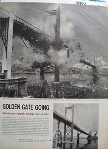 Golden Gate Going Article 1960