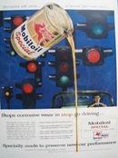 Mobiloil Stops Corrosive Wear Ad 1957