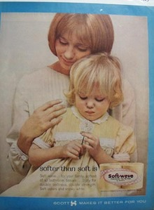 Soft-Weave Softer Than Soft Is Ad 1963