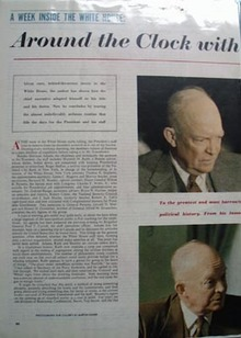 Dwight D Eisenhower Article 1954