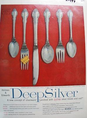Int'l Deep Silver Ad 1957