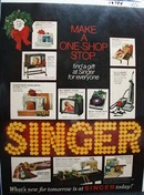 Singer Make a One-Shop Stop ad 1968